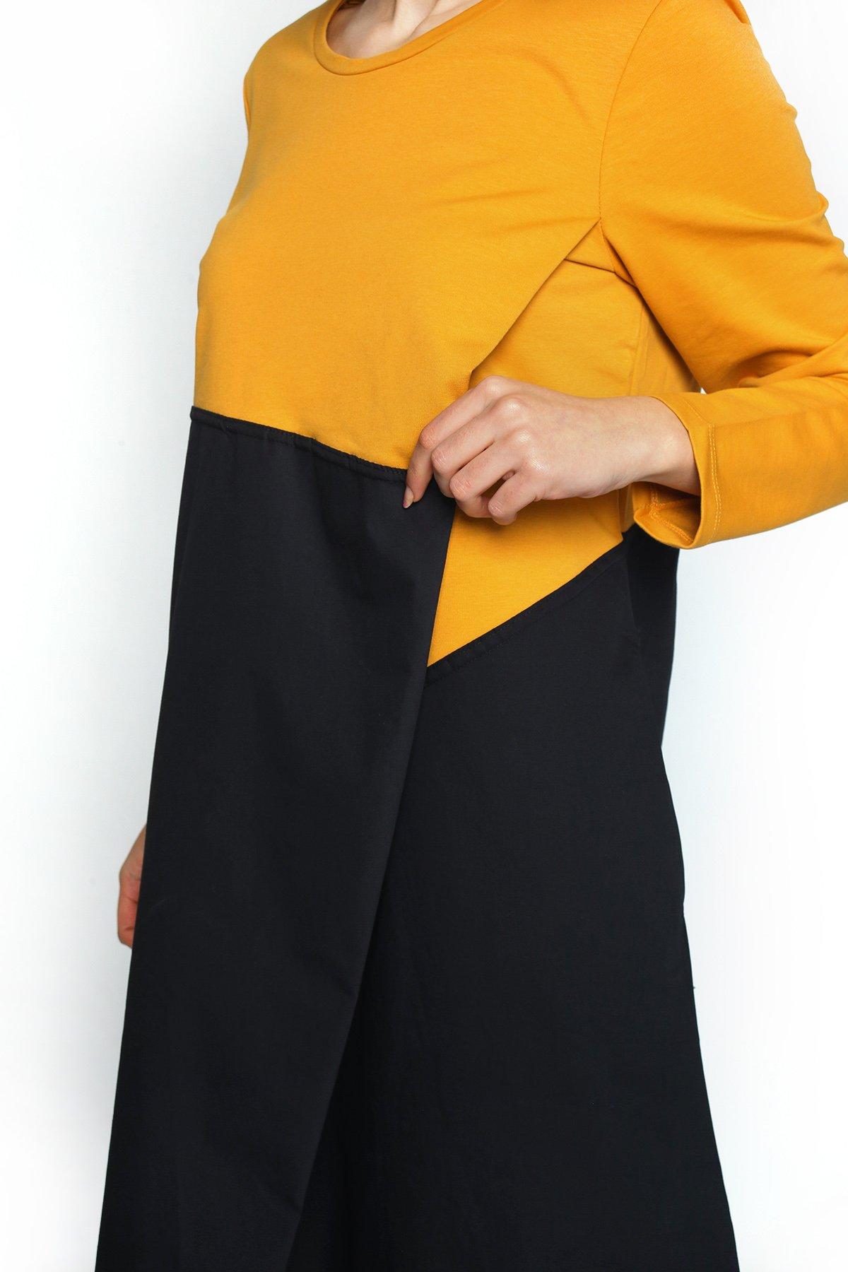 Ön Çapraz Elbise