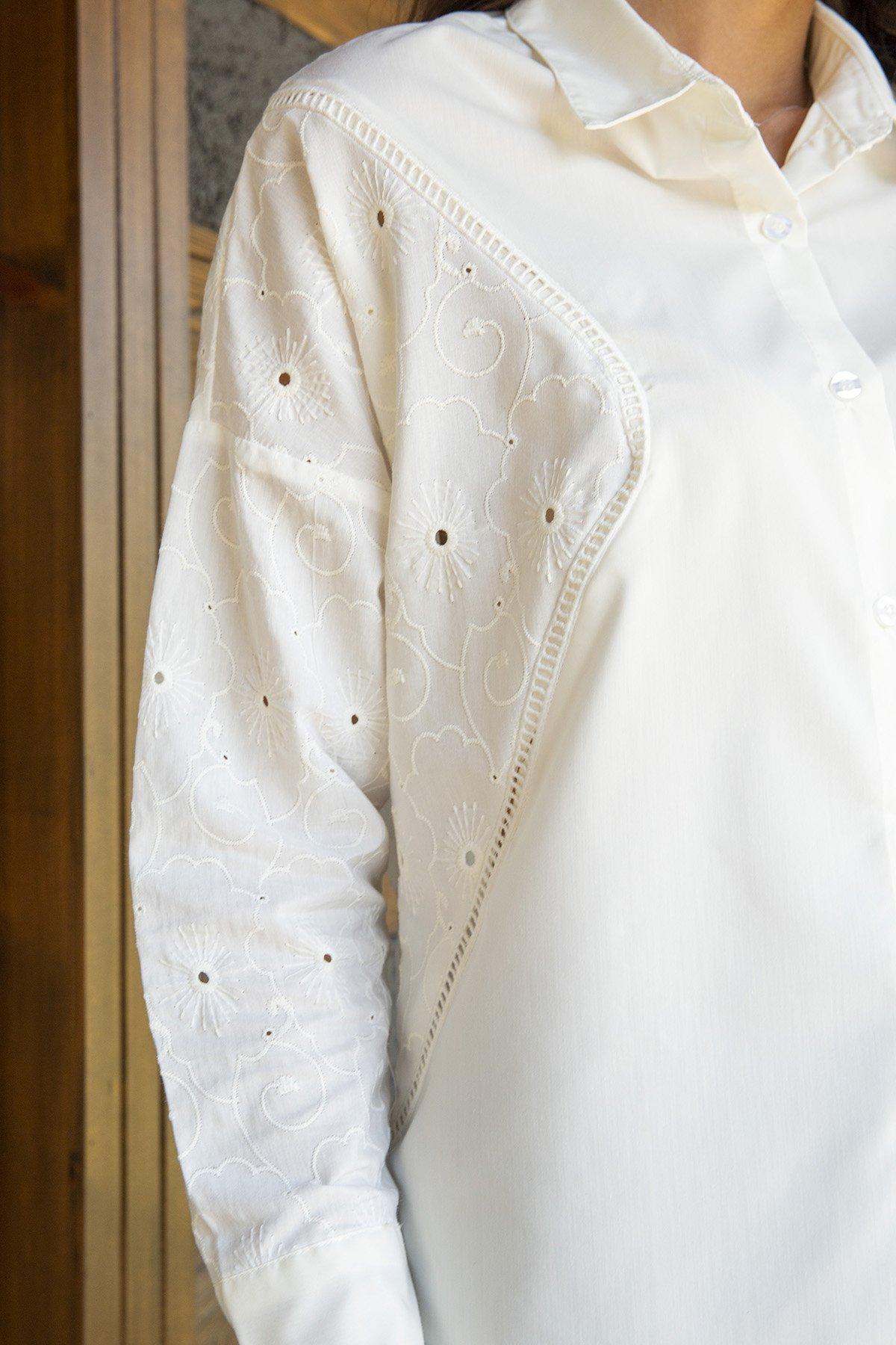 Düğmeli  Fisto Gömlek