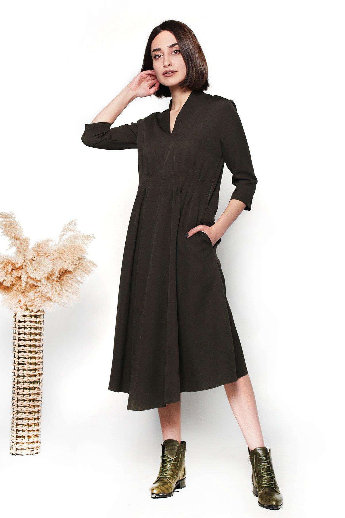 Beli Pensli Yetim Kol  Elbise
