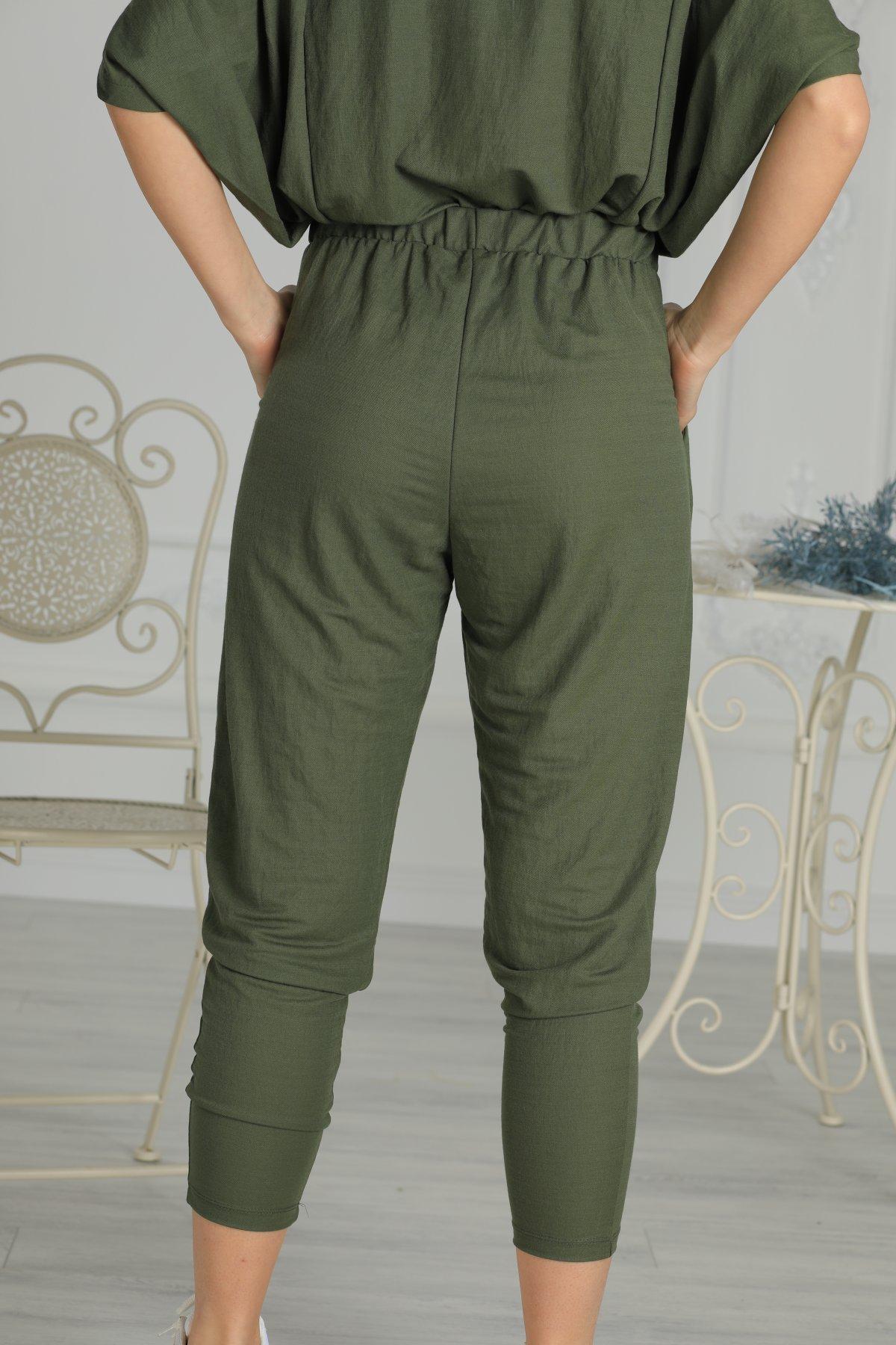 Bel Lastikli Pantolon